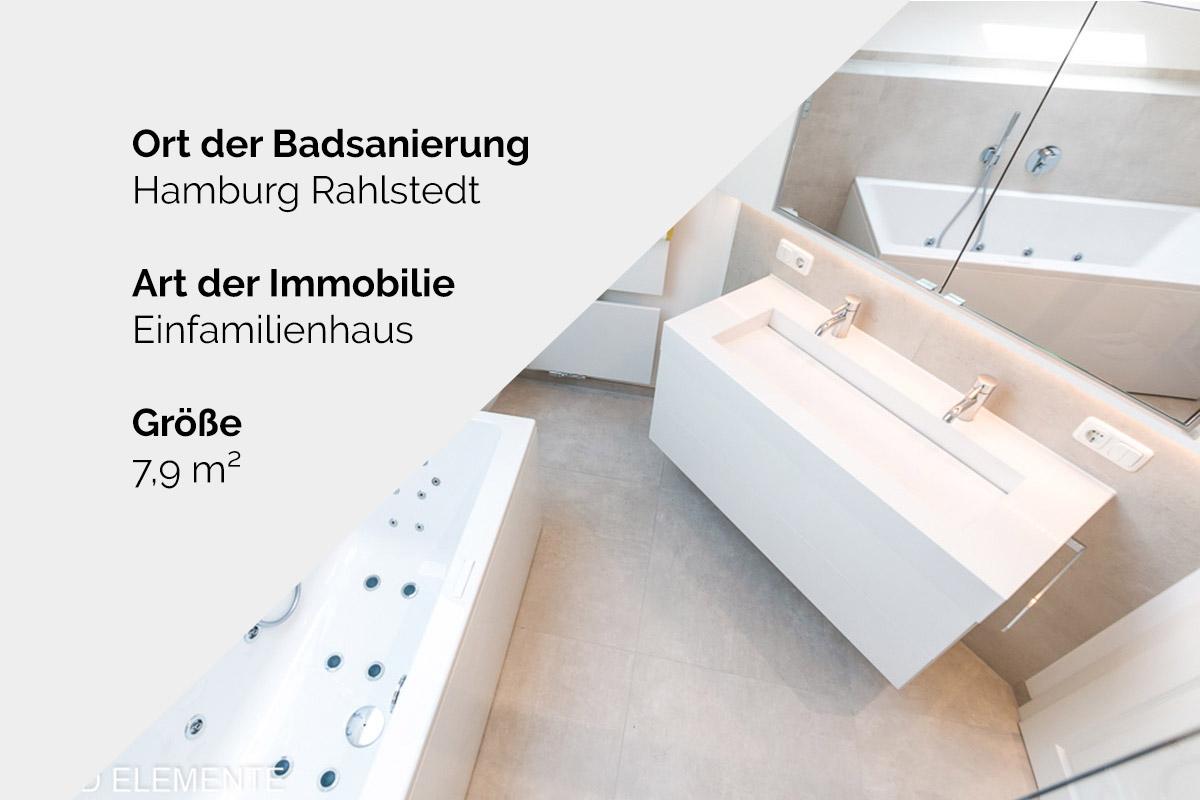 Komplette Badsanierung - Hamburg Rahlstedt