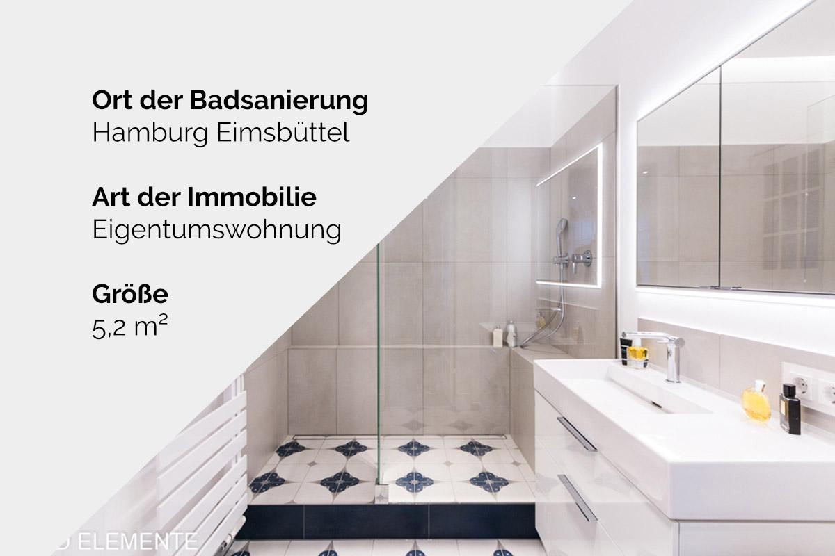 Komplette Badsanierung - Hamburg Eimsbüttel