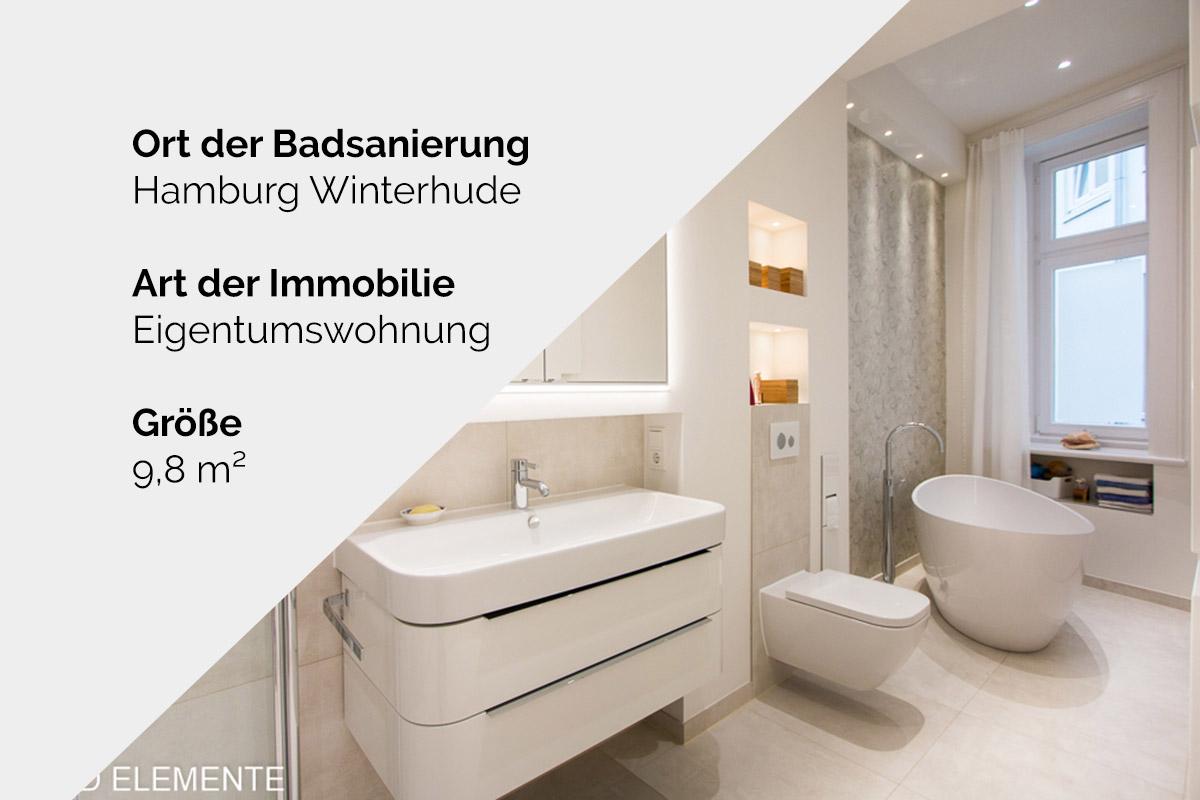 Komplette Badsanierung - Hamburg Winterhude