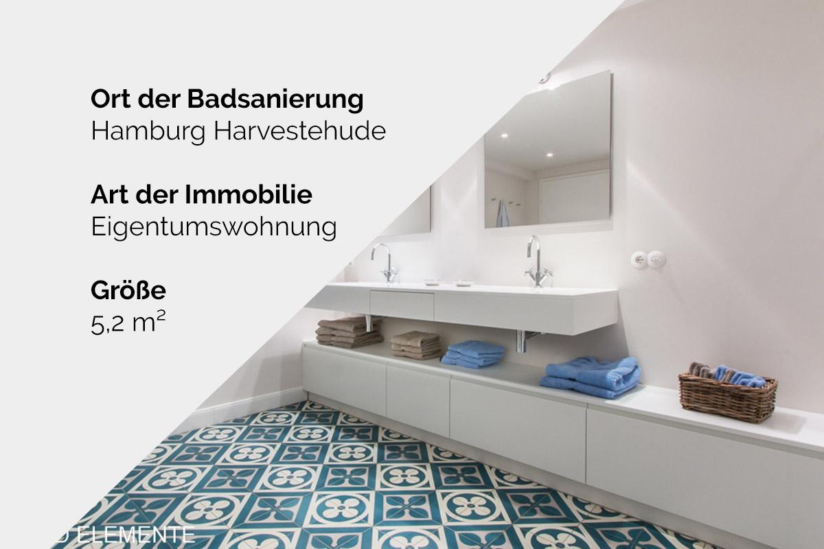 Komplette Badsanierung - Hamburg Harvestehude