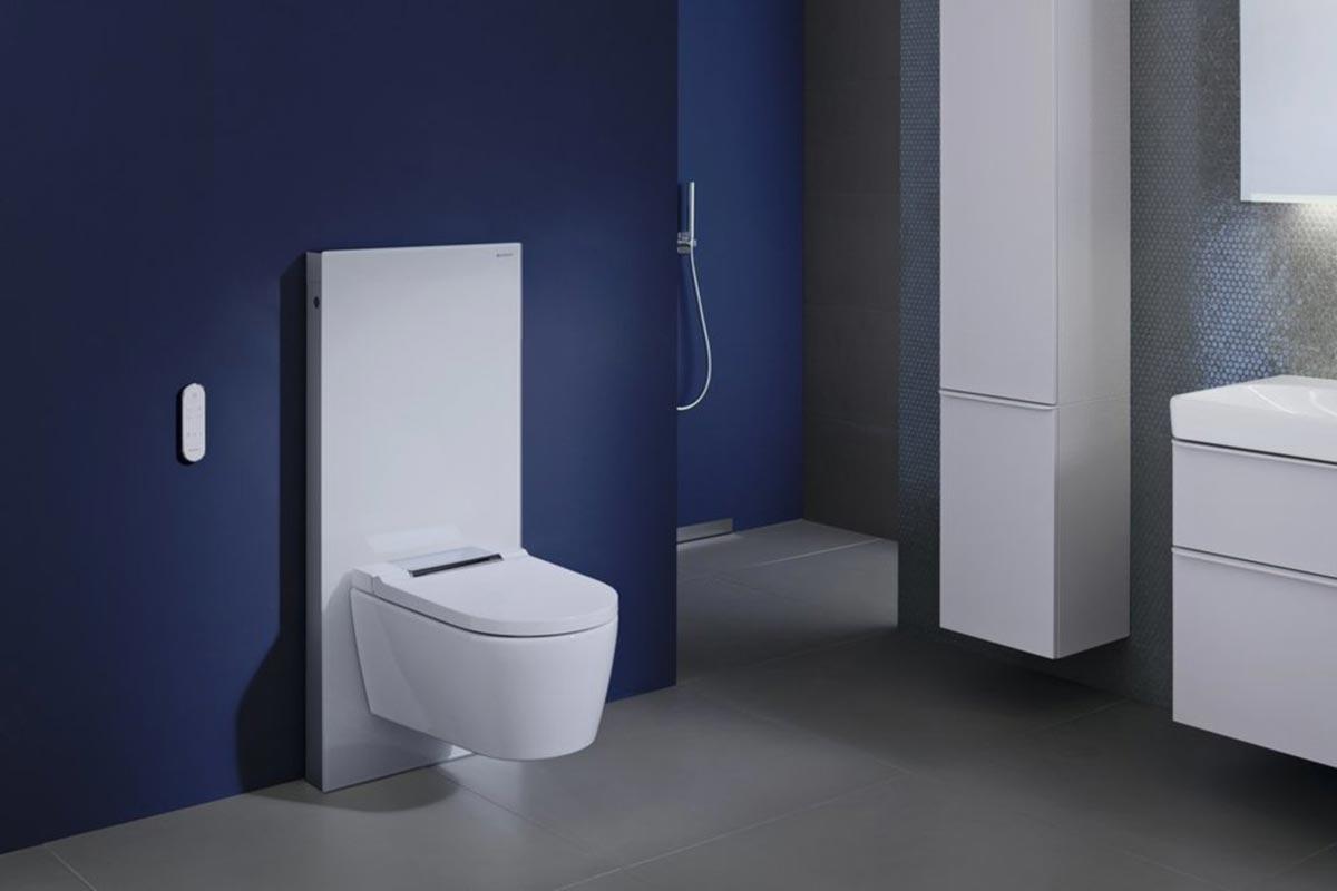 BAD ELEMENTE. Badsanierung mit Washlet WCs mit Bidet-Funktion von Geberit, Toto und Grohe. Hygienisch und komfortabel.
